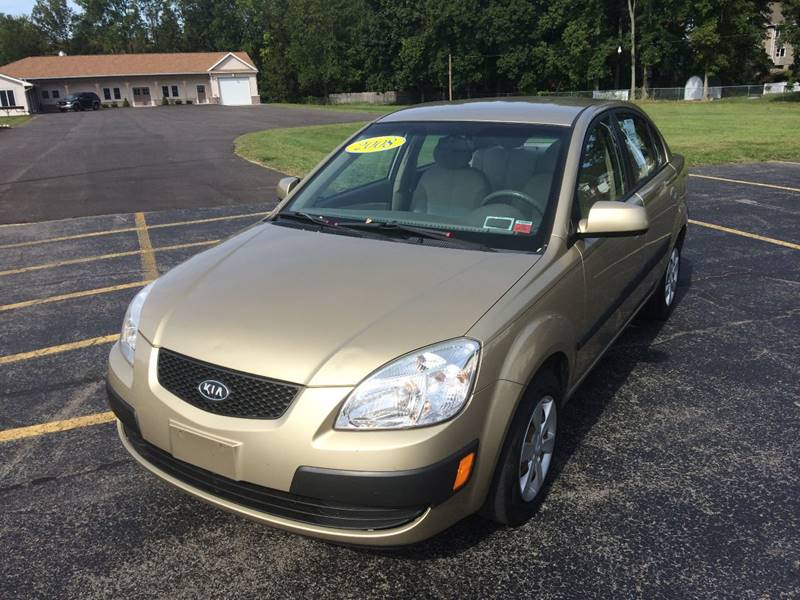 2008 Kia Rio for sale at JAG AUTO SALES in Webster NY