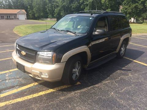 2006 Chevrolet TrailBlazer for sale at JAG AUTO SALES in Webster NY