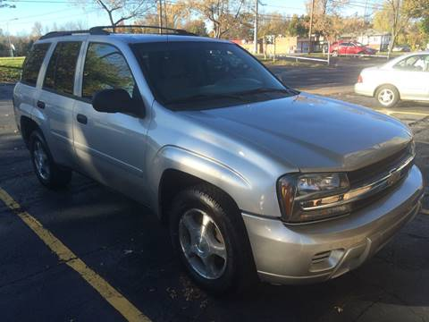 2007 Chevrolet TrailBlazer for sale at JAG AUTO SALES in Webster NY