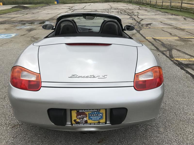 2002 Porsche Boxster S 2dr Convertible In Eastlake Oh Mr Auto