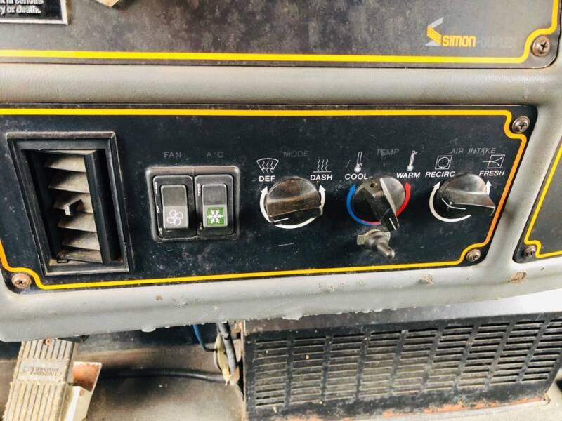 1991 SIMON DUPLEX/SUTPHEN DELUGE PUMPER 1500 GPM PUMPER - Eastlake OH