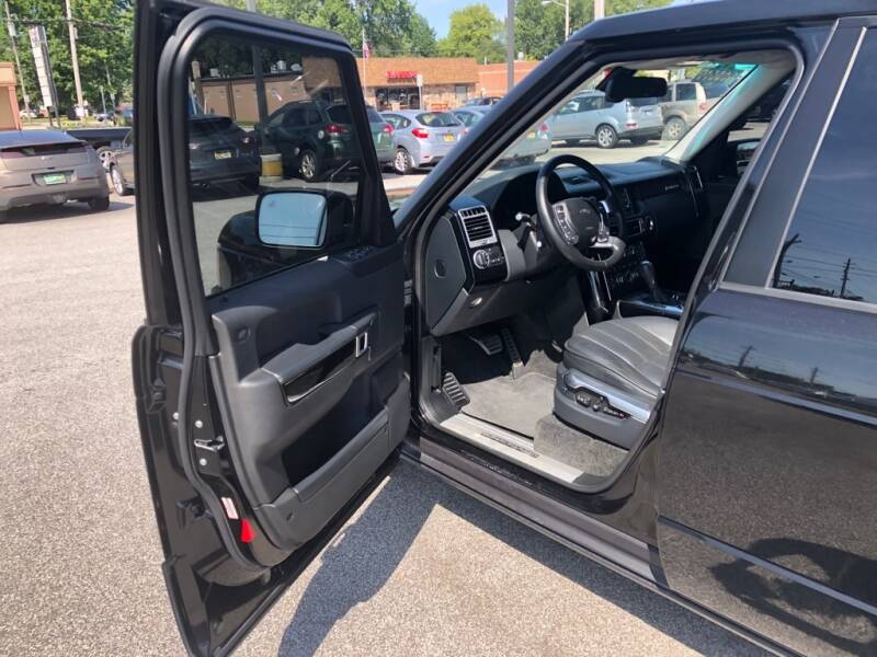 2011 Land Rover Range Rover 4x4 Supercharged 4dr SUV - Eastlake OH