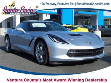 2017 Chevrolet Corvette for sale in Santa Paula, CA