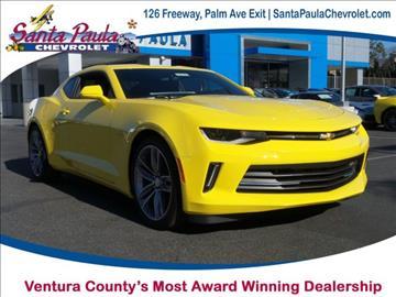 2017 Chevrolet Camaro for sale in Santa Paula, CA