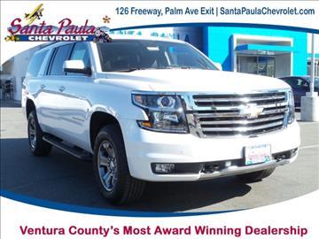 2017 Chevrolet Suburban for sale in Santa Paula, CA