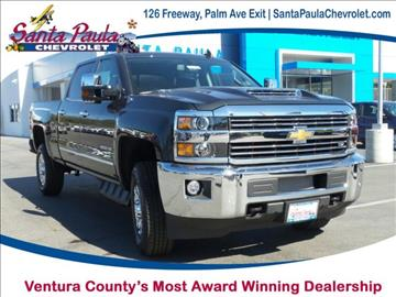 2017 Chevrolet Silverado 2500HD for sale in Santa Paula, CA