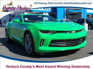 2017 Chevrolet Camaro for sale in Santa Paula, CA