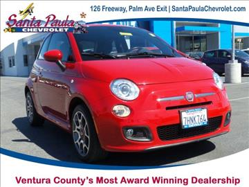 2014 FIAT 500 for sale in Santa Paula, CA