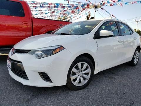 2015 Toyota Corolla for sale in Bellflower, CA
