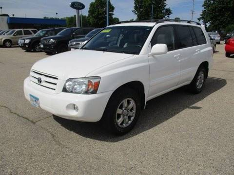2007 Toyota Highlander for sale in Faribault, MN