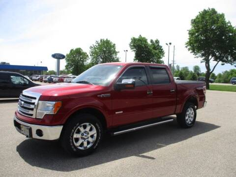 2013 Ford F-150 Lariat for sale at R. C. Bliss, Inc. in Faribault MN