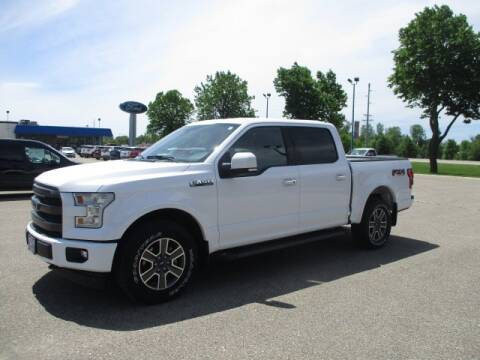 2017 Ford F-150 Lariat for sale at R. C. Bliss, Inc. in Faribault MN