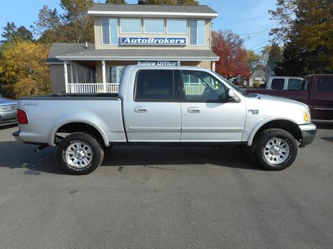 2001 Ford F-150 for sale in Cadillac, MI