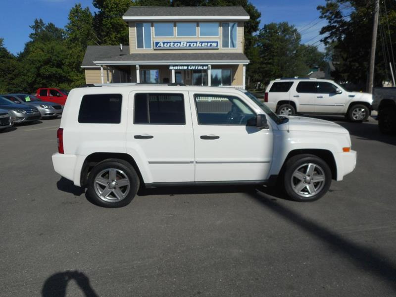 2008 Jeep Patriot For Sale At Autobrokers In Cadillac MI