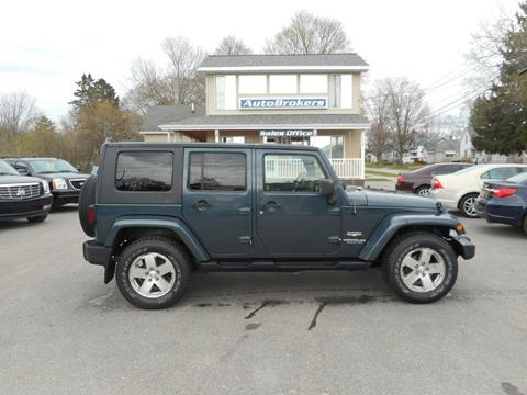 2008 Jeep Wrangler Unlimited for sale in Cadillac, MI