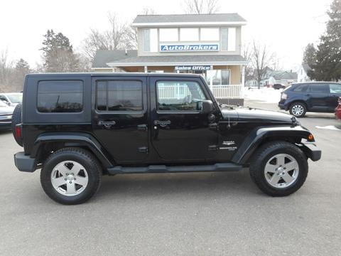 2010 Jeep Wrangler Unlimited for sale in Cadillac, MI