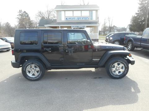 2009 Jeep Wrangler Unlimited for sale in Cadillac, MI