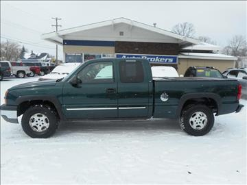 2004 Chevrolet Silverado 1500 for sale in Cadillac, MI