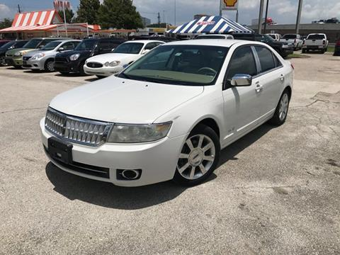 2009 Lincoln MKZ for sale in Houston, TX