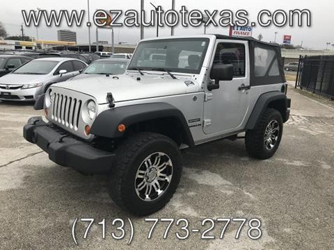 2011 Jeep Wrangler for sale in Houston, TX