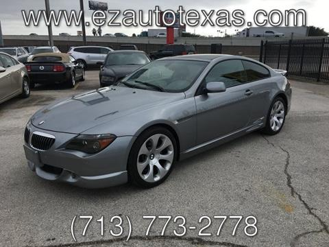 2004 BMW 6 Series for sale in Houston, TX