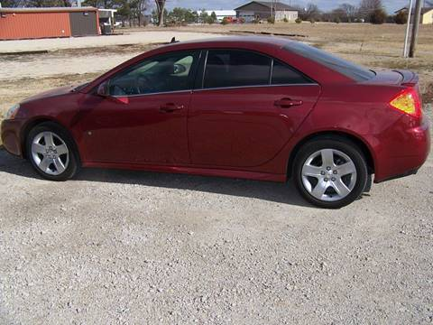 2009 Pontiac G6 for sale at LYNDON MOTORS in Lyndon KS