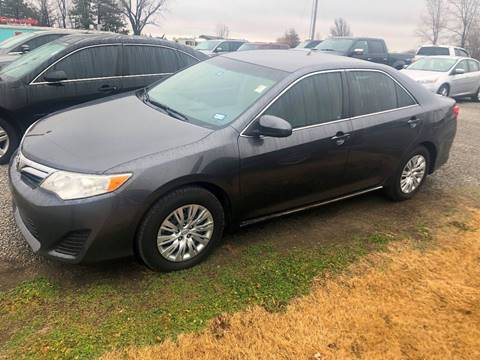2012 Toyota Camry for sale at LYNDON MOTORS in Lyndon KS
