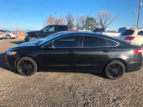 2014 Ford Fusion for sale at LYNDON MOTORS in Lyndon KS