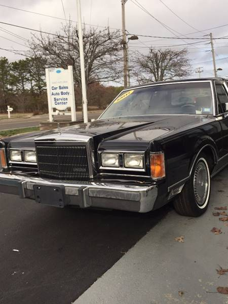 1989 Lincoln Town Car 4dr Sedan In Westhampton Ny Beach Auto Sports