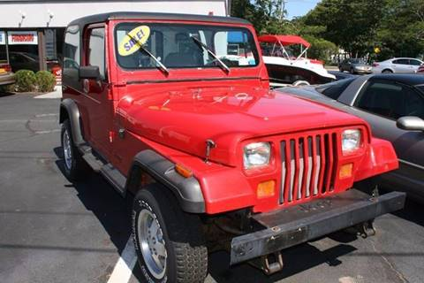 1990 jeep wrangler for sale carsforsale com rh carsforsale com used jeep wrangler unlimited manual transmission for sale used manual jeeps for sale