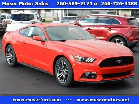 2017 Ford Mustang for sale in Portland, IN