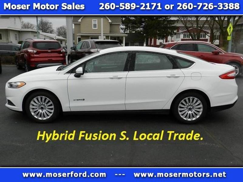 2014 ford fusion hybrid s in portland in - moser motors of portland