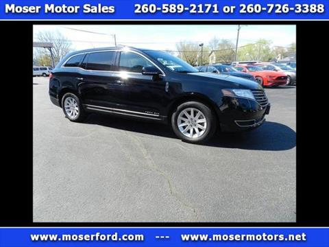 2017 Lincoln MKT Town Car for sale in Portland, IN