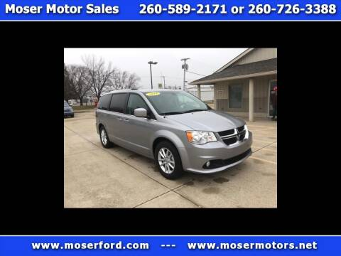 2019 Dodge Grand Caravan for sale at Moser Motors Of Portland in Portland IN