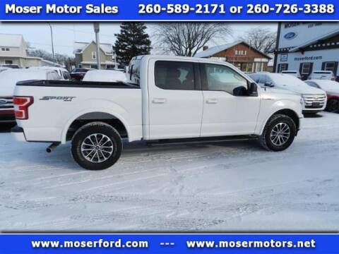 2018 Ford F-150 for sale at Moser Motors Of Portland in Portland IN