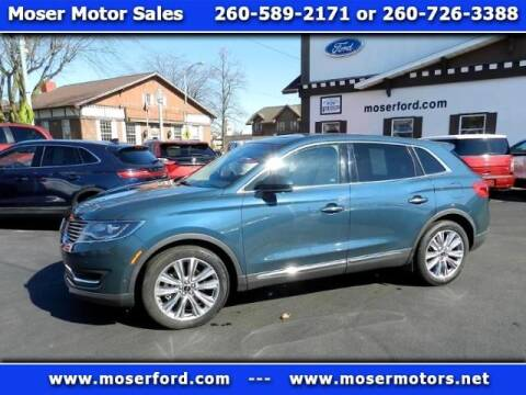 2016 Lincoln MKX Reserve for sale at Moser Motors Of Portland in Portland IN