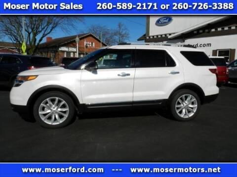 2012 Ford Explorer XLT for sale at Moser Motors Of Portland in Portland IN