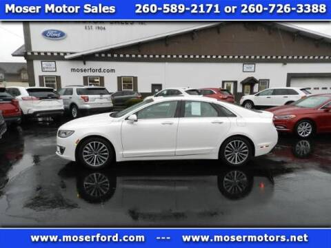 2017 Lincoln MKZ Hybrid Select for sale at Moser Motors Of Portland in Portland IN