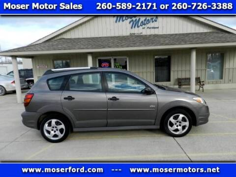 2007 Pontiac Vibe for sale at Moser Motors Of Portland in Portland IN