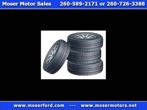 2008 Ford F-250 Super Duty for sale at Moser Motors Of Portland in Portland IN