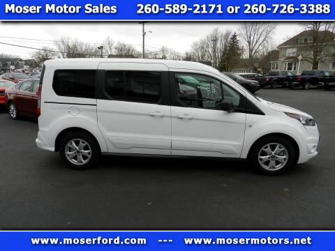 2015 Ford Transit Connect Wagon for sale at Moser Motors Of Portland in Portland IN