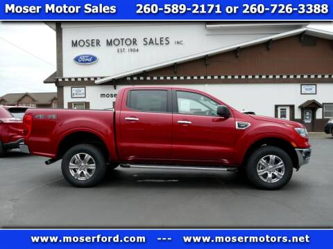 2020 Ford Ranger for sale at Moser Motors Of Portland in Portland IN