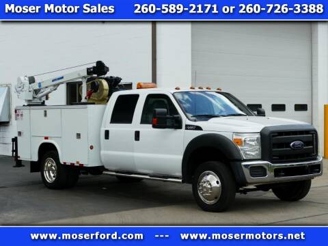 2013 Ford F-450 Super Duty for sale at Moser Motors Of Portland in Portland IN