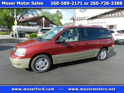 2005 Ford Freestar for sale at Moser Motors Of Portland in Portland IN