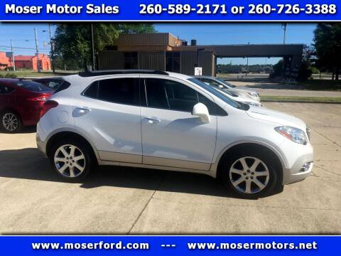 2013 Buick Encore for sale at Moser Motors Of Portland in Portland IN