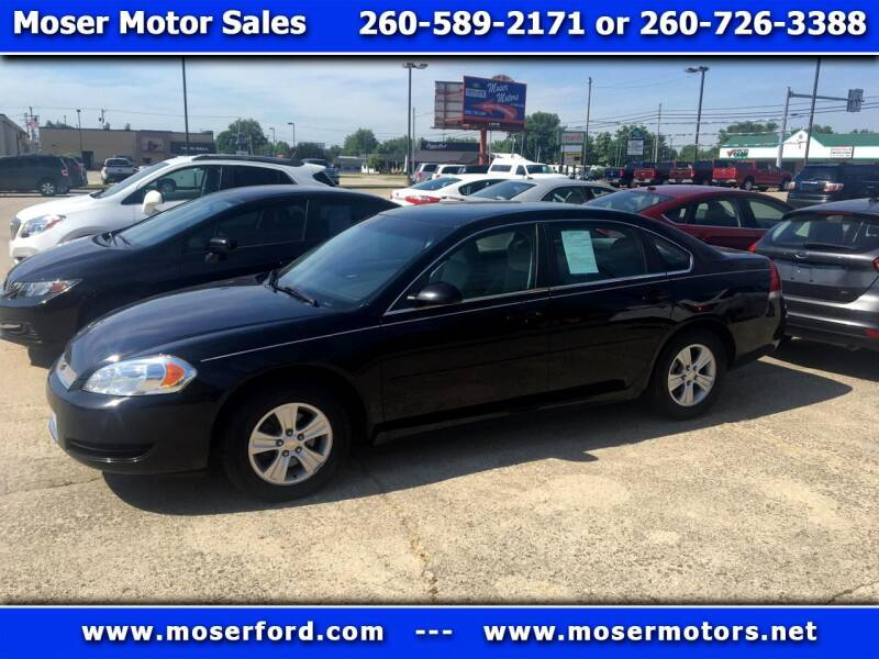 2014 Chevrolet Impala Limited for sale at Moser Motors Of Portland in Portland IN