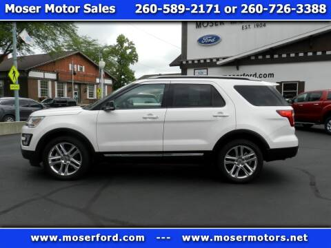 2017 Ford Explorer for sale at Moser Motors Of Portland in Portland IN