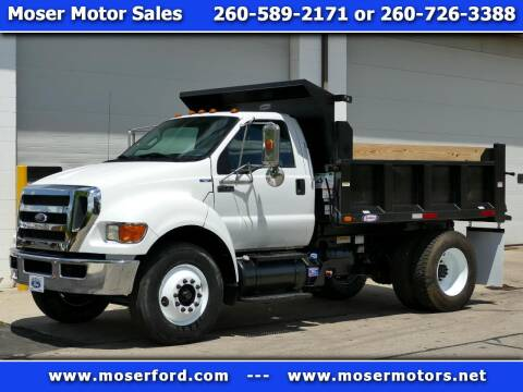 2013 Ford F-750 Super Duty for sale at Moser Motors Of Portland in Portland IN