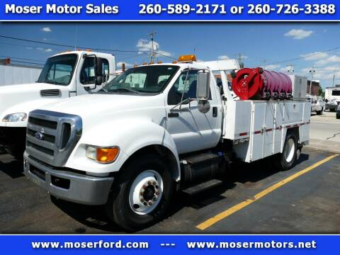 2011 Ford F-750 Super Duty for sale at Moser Motors Of Portland in Portland IN