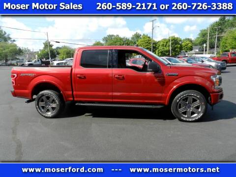 2020 Ford F-150 for sale at Moser Motors Of Portland in Portland IN